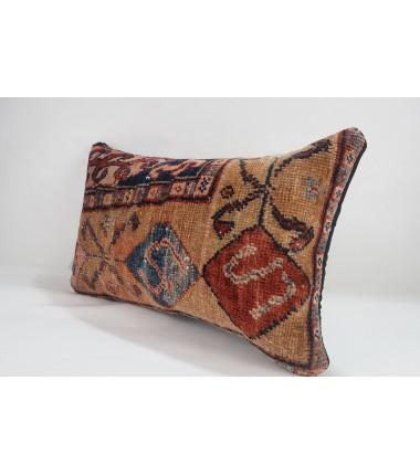 Turkish Carpet Rug Pillow 12x20, ID 225 , From Anatolia