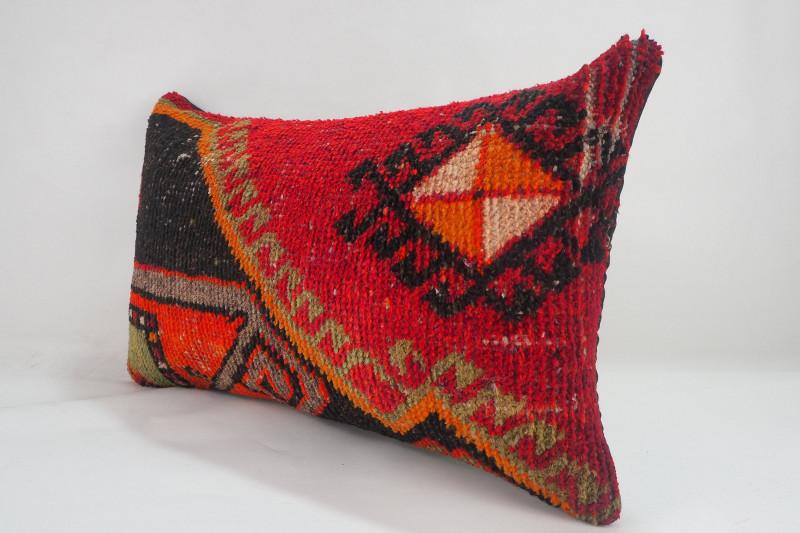 Turkish Carpet Rug Pillow 12x20, ID- 220 - From Anatolia