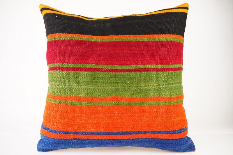 Turkish Kilim Pillow 20x20, ID 427, Kilim From Konya