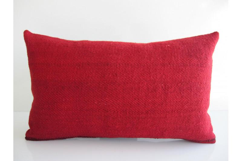 Turkish Kilim Pillow 12x20, ID 164, Kilim From Malatya