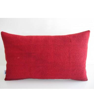 Turkish Kilim Pillow 12x20, ID 163, Kilim From Malatya