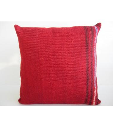 Turkish Kilim Pillow 16x16, ID 147, Kilim From Malatya