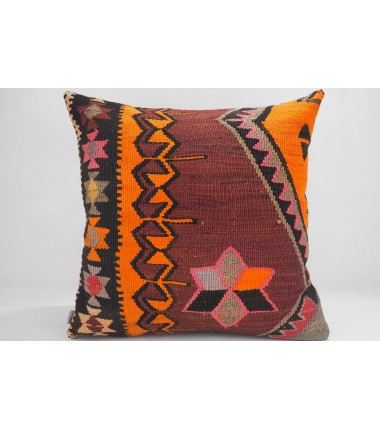 Turkish Kilim Pillow 20x20, ID 687, Kilim From Kars