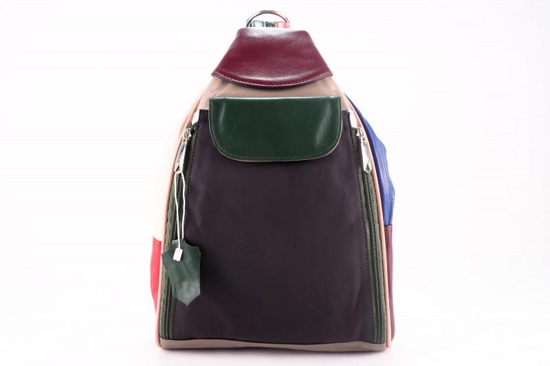 Turkish Genuine Women Patchwork Leather bag