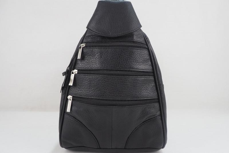 Turkish Genuine Women Black Leather Bag