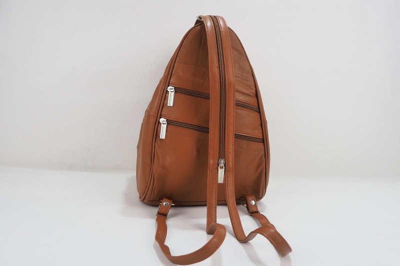 Turkish Genuine Women Brown Leather Bag