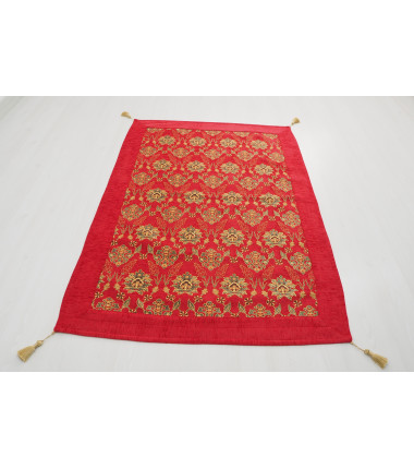 Turkish Ottoman Style Red Table Cloth & Sofa Cover