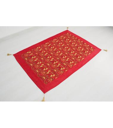 ottoman fabric cover