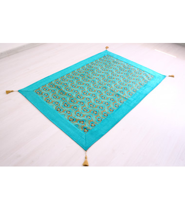 Turquoise Blue sofa cover