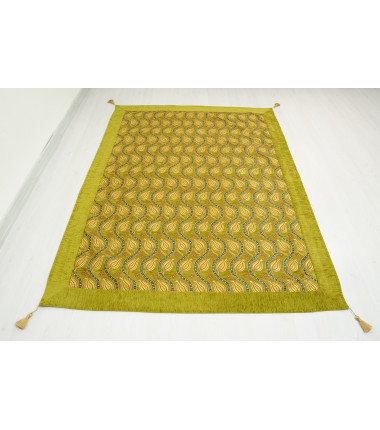 Turkish Ottoman Style Green Twin & Single Size Bed Cover