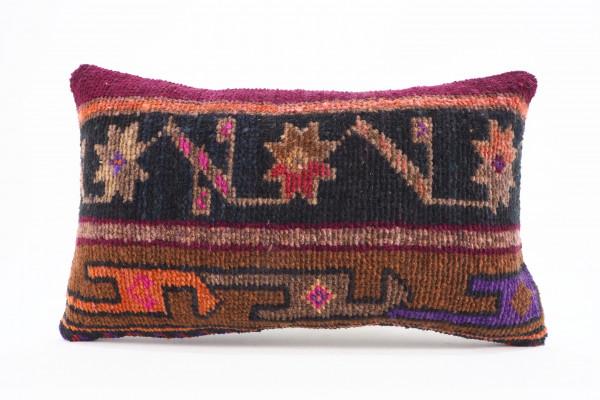Turkish Carpet Rug Pillow 12x20, From Kars
