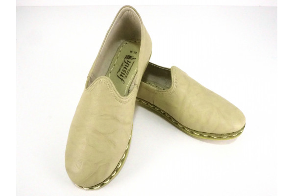 Shoes Turkish Hand Stitched Shoes Turkish Yemeni Shoes Turkish Flats Summer Shoes Gift For Women Turkish Yemeni Yellow Handmade Shoes