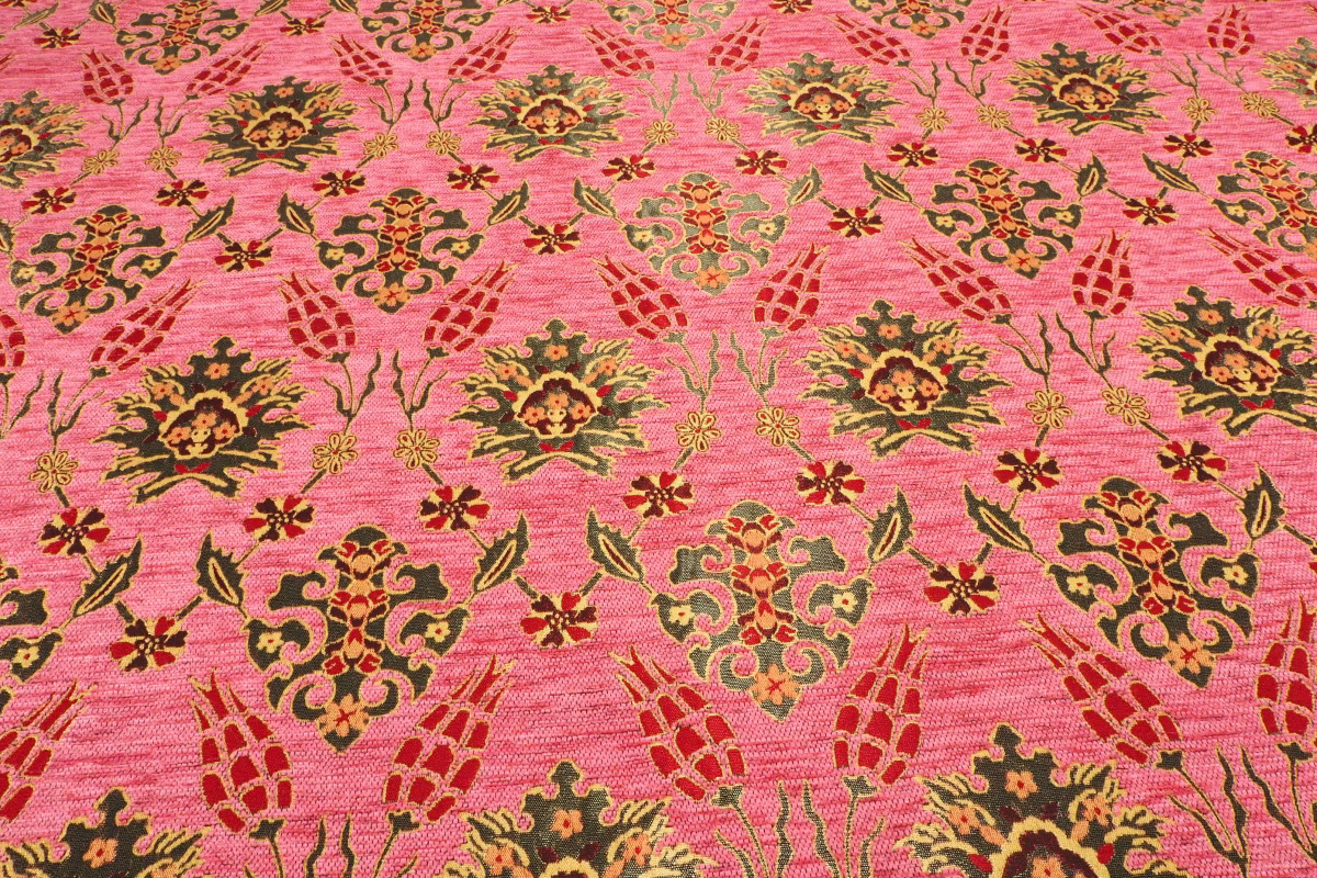 Pale Pink Upholstery Fabric