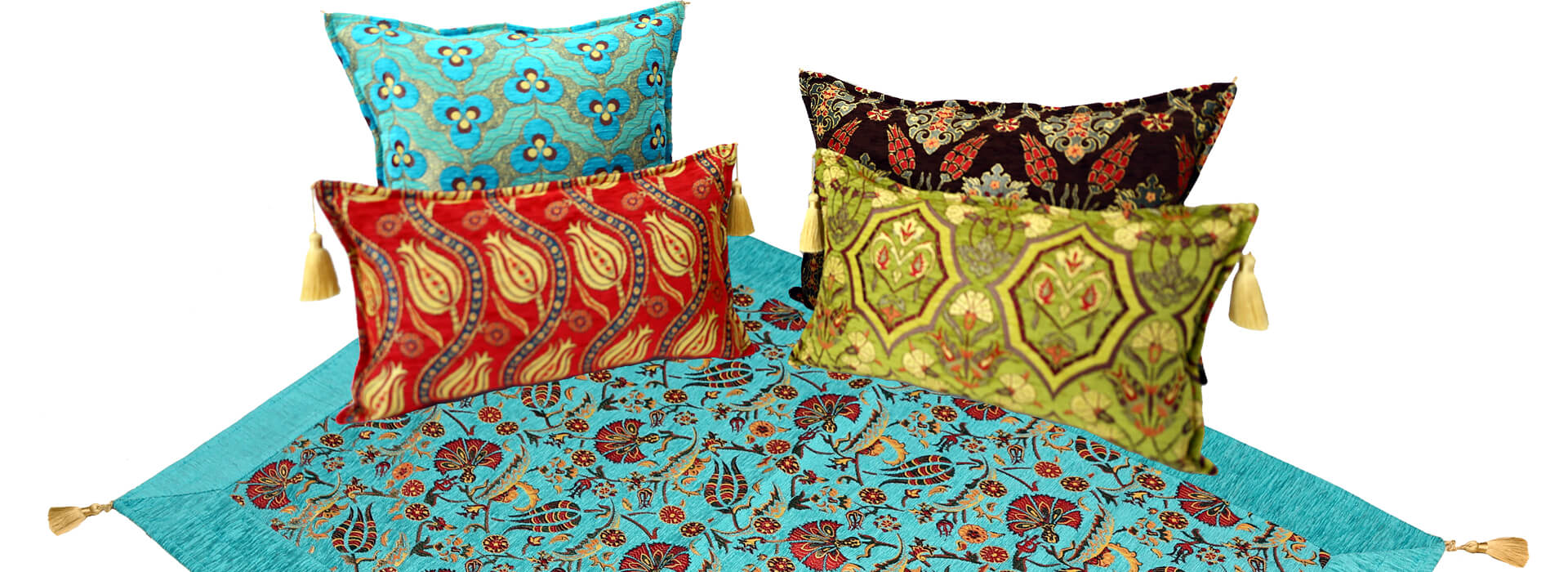 Ottoman Fabric Pillows